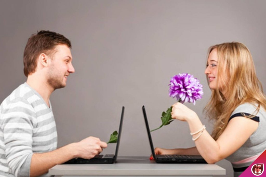 знакомство в интернете фото